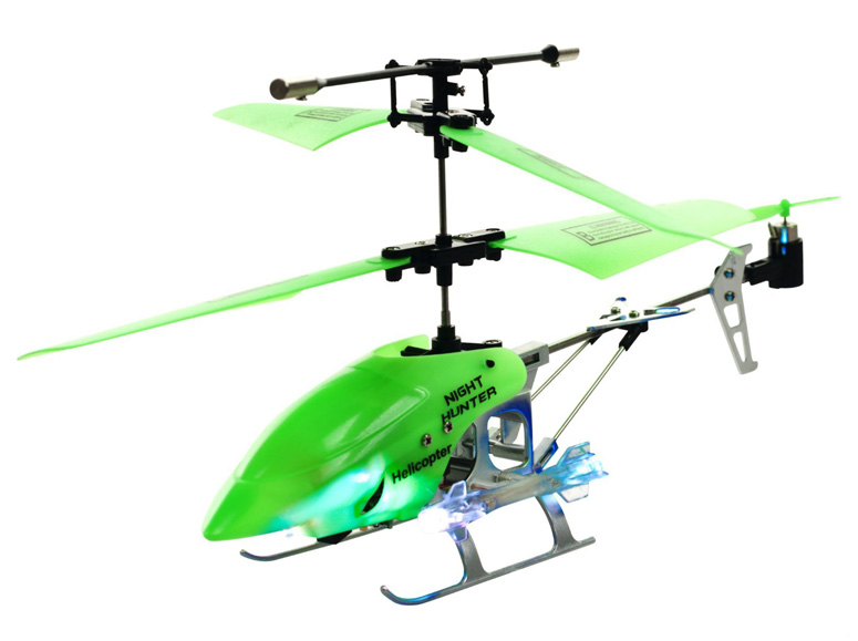 Night Hunter XTREME Glow in the Dark RC Helicopter Image