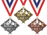 Chess Medals, Pins