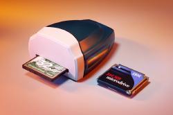 USB Compact Flash Reader