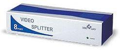 8-port video splitter (350 MHz)