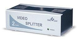 2-port video splitter (200 MHz)