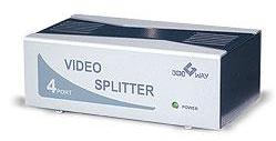 4-port video splitter (200 MHz)