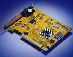 Single serial port PCI-bus card