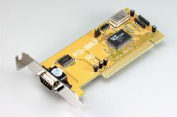 Single serial card (PCI-bus, low-profile)