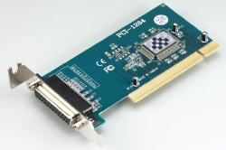 Single ECP/EPP parallel port card (PCI-bus, Low profile)