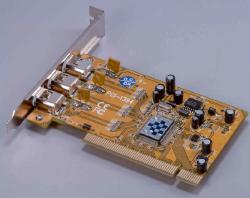 3 port Firewire card (PCI-bus)