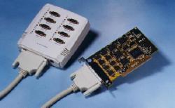 8 serial port PCI-bus card (9-pin COM-BOX)