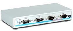 USB to 4 serial port adapter (RS232/422/485), software settable