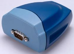 USB to single serial port (RS422/485) adapter.  Surge protected & optically isolated.