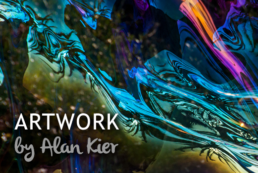 Alan Kier, the bubble master in San Diego county