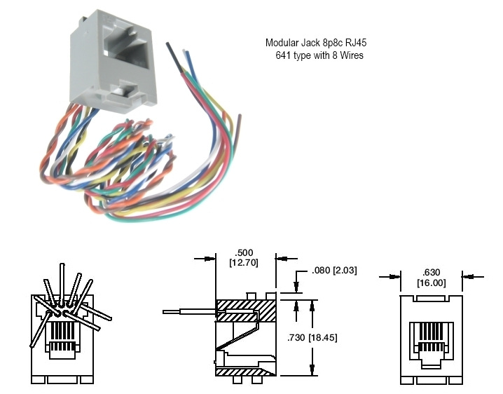 rj45 modular jack diagram 25 wiring diagram images rj45 wall jack wiring diagram 568b rj45 wall jack wiring diagram a or b